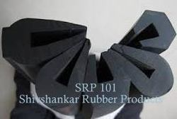 Natural V Type Aluminium Section Rubber Gaskets