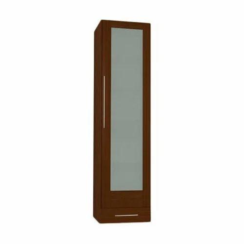 Brown Wooden Single Door Wardrobe, Rs 13499 /piece, Raisa