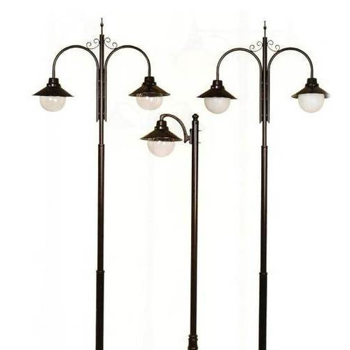 Decorative pole light