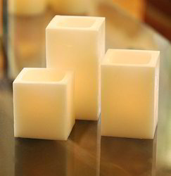 Hollow Cube Candles