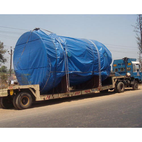 Blue Truck Cover