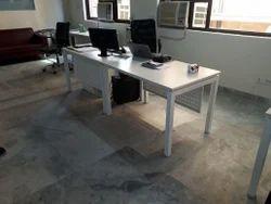 Wood Rectangular Desking System