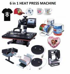 6 in 1 Heat Press Machine - Six in One Heat Press