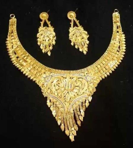 1 gm gold necklace set vh enterprise wholesale sellers in malad 1 gm gold necklace set aloadofball Gallery