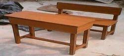 Wood Brown School Tables