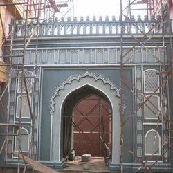Exterior Gate Decoration