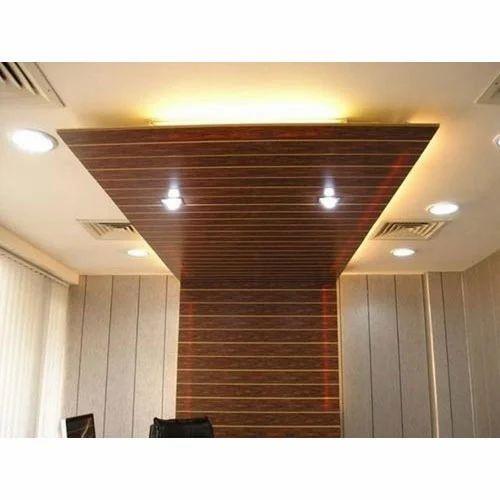 High Roof False Ceiling Designs: PVC Ceiling Design Service In Kashmir Avenue, Amritsar