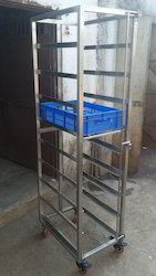 Basket Utility Trolley