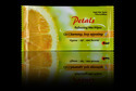 Lemon Flavour Petals Single Wipes, Box, For Cleaning