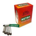 Metro Safety Pin - Steel -Nickel