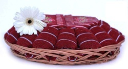 Cotton Towel Basket Gift Sets