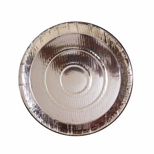 Silver Foil Paper Plate  sc 1 st  IndiaMART & Silver Foil Paper Plate at Rs 2.8 /piece | Silver Foil Paper Plates ...