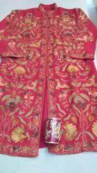 Pure Wool Kashmiri Embroidery Aari Work Jackets, Size: L