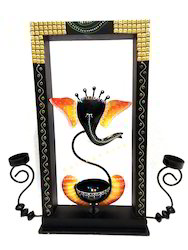 Ganesh Pole Candle Stand