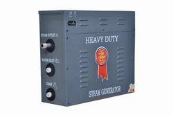 Mild Steel Gray Steam Bath Generator, For Industrial