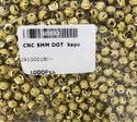 cnc dot brass beads