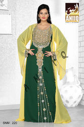 Designer Arabic Kaftan Dress