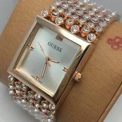 Guess Golden Wrist Watch