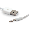 4 Pole Stereo To USB Male Cord