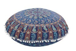 Mandala Throw Floor Cushion Cover