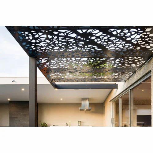 Laser Cut Metal Ceilings धातु की छत Smart Constro