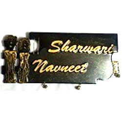 Designer Wooden Name Plates