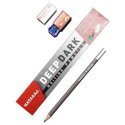 Nataraj Deep Dark Pencil (10 Pencil 10 Erase Sharpener)