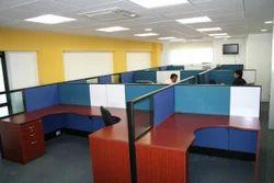 Wood Modular Office Workstation