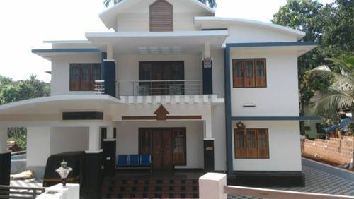 Kerala construction rates bangalore total building - Exterior house painting cost per square foot ...