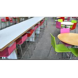 Canteen Table Chair Set