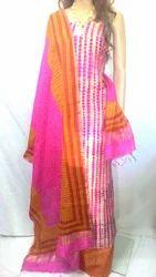 Designer Tie N Die Dress Material