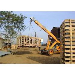 Wooden Crates Loading Service