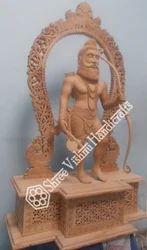 Wooden Figure Statue, Size/dimension: 3ft