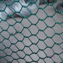 Color Coated Plastic Hexagonal Wire Mesh