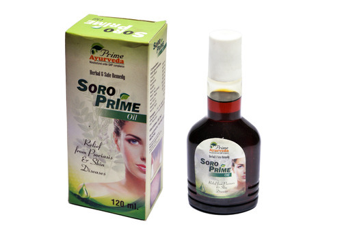 soro prime oil relief from psoriasis skin diseases at rs 182
