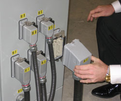 Mild Steel Plug & Play Electric Control, For Junction Boxes