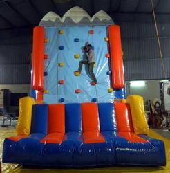 Climbing Wall Bouncy Castle
