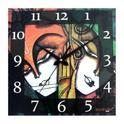 Printed Square Clocks
