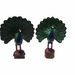 FRP Peacock Decorative Statue