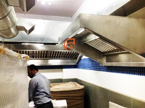 Kitchen Fume Exhaust Systems - Exhaust Fan For Kitchen