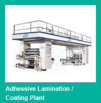 Adhesive Lamination Coating Plant
