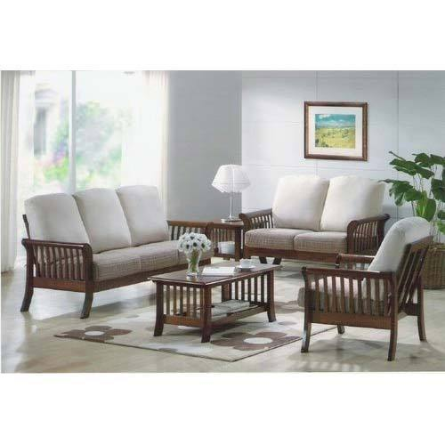 Furniture To Buy: Wooden Sofa Set 6 Seater At Rs 50000 /set