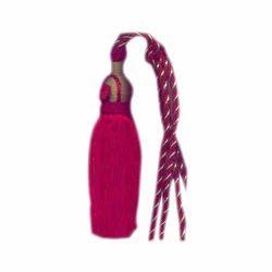 Pink Curtain Tassel Tieback