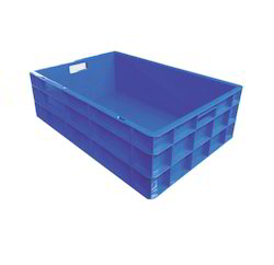 Closed Plastic Crates with Handle