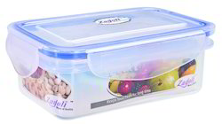 170 ml Plastic Locked Airtight Rectangular Container