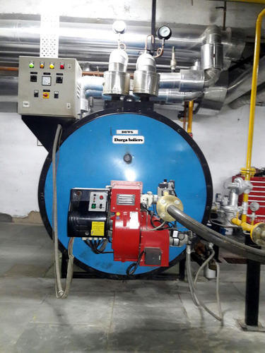 Durga Boilers Automatic Gas Fired Hot Water Boiler, Capacity: 0-500 ...