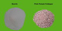 Quartz and Pink Potash Feldspar, Packaging Type: Jumbo Bag and HDPE