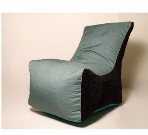Surprising El Divano Bean Bag Sofa Green And Black Creativecarmelina Interior Chair Design Creativecarmelinacom