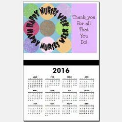 Happy Nurses Week Calendar Designing & Printing