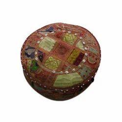 Cotton And Silk Circular Designer Mudda